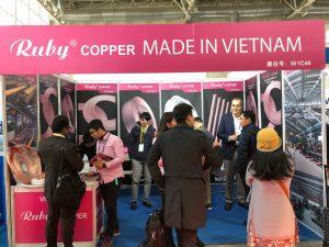 Toan Phat mo gian hang o trien lam China Refrigeration Expo 2018 tai Bac Kinh Trung Quoc.